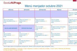 MENJADOR OCTUBRE 2021