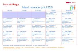 MENJADOR JULIOL 2021